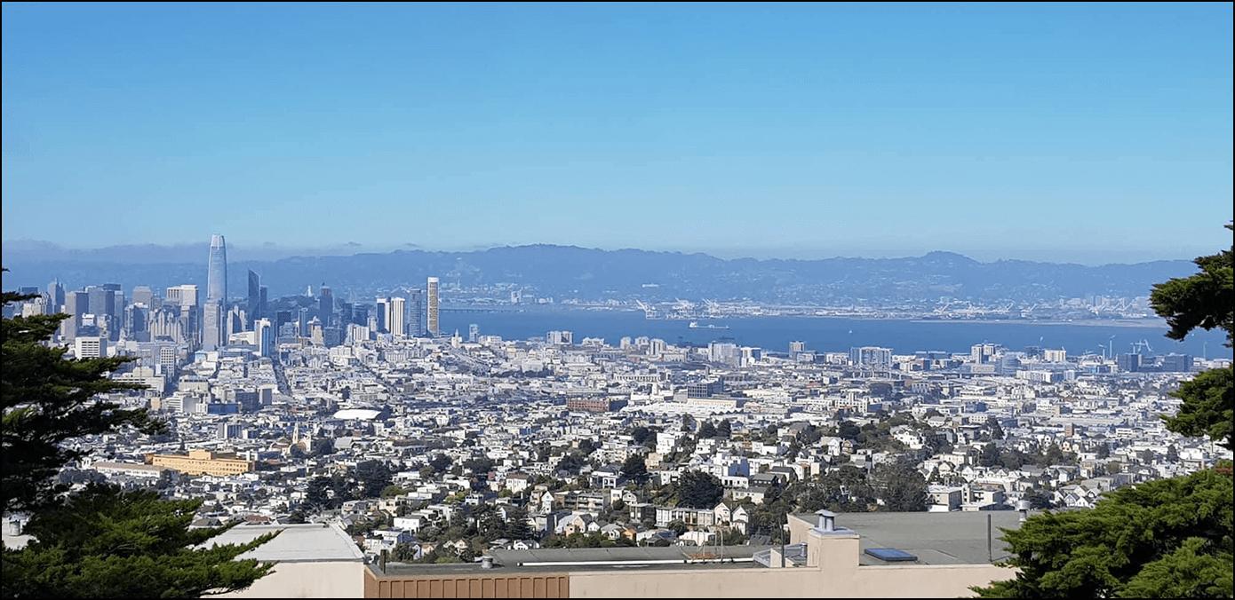 Twin Peaks San Francisco Kalifornien