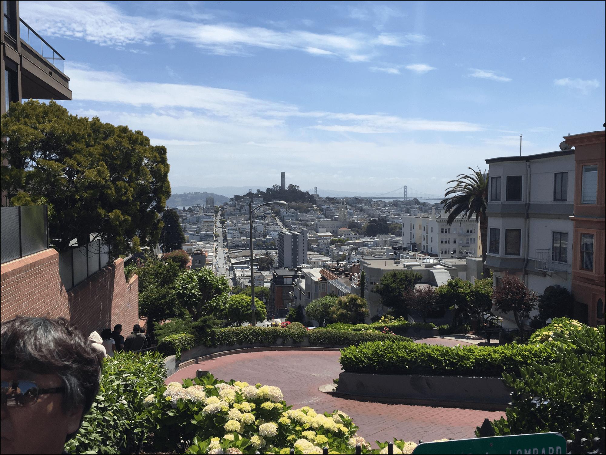 Lombard Street San Francisco Kalifornien