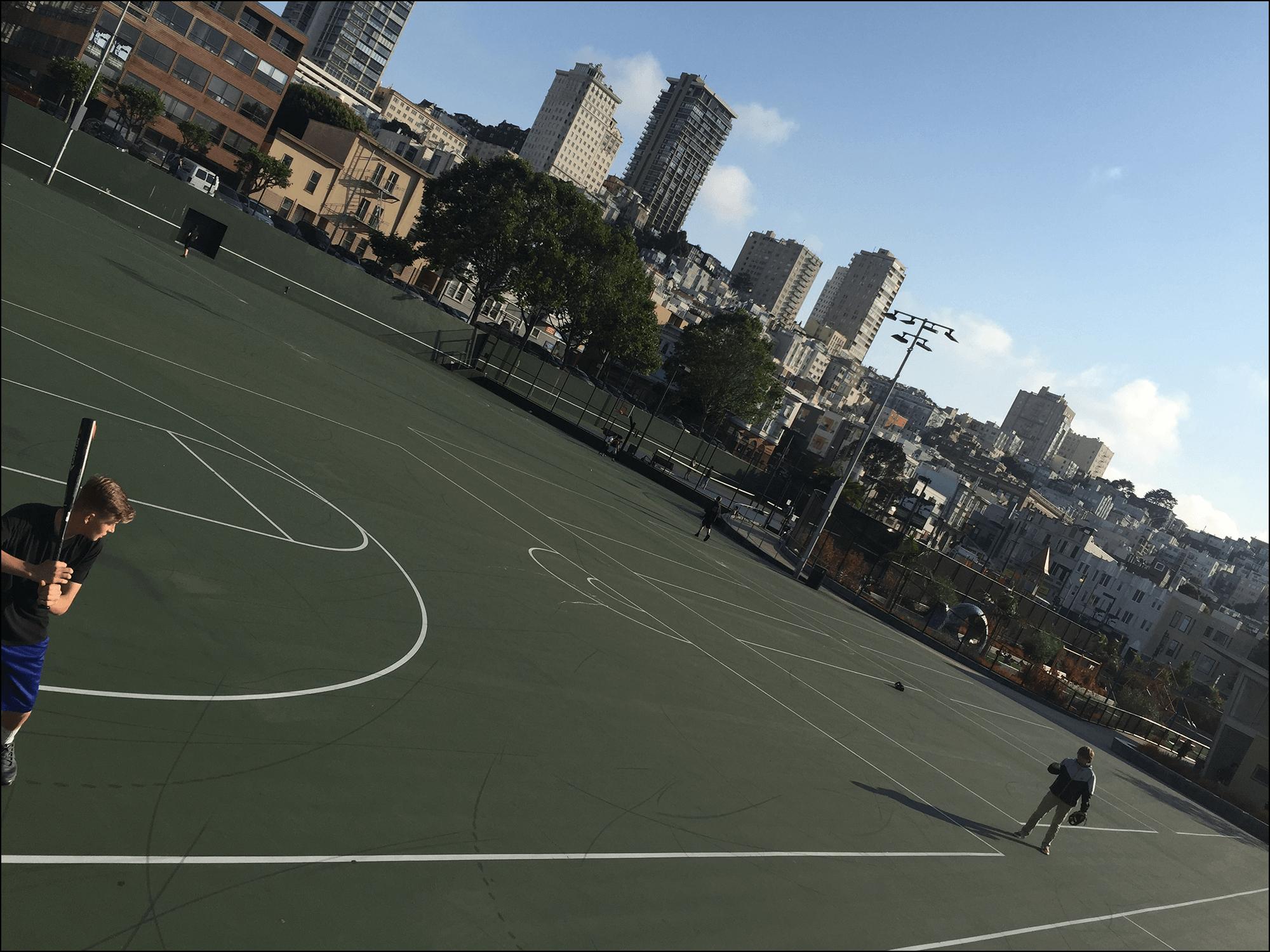 Sportplatz in San Francisco CA