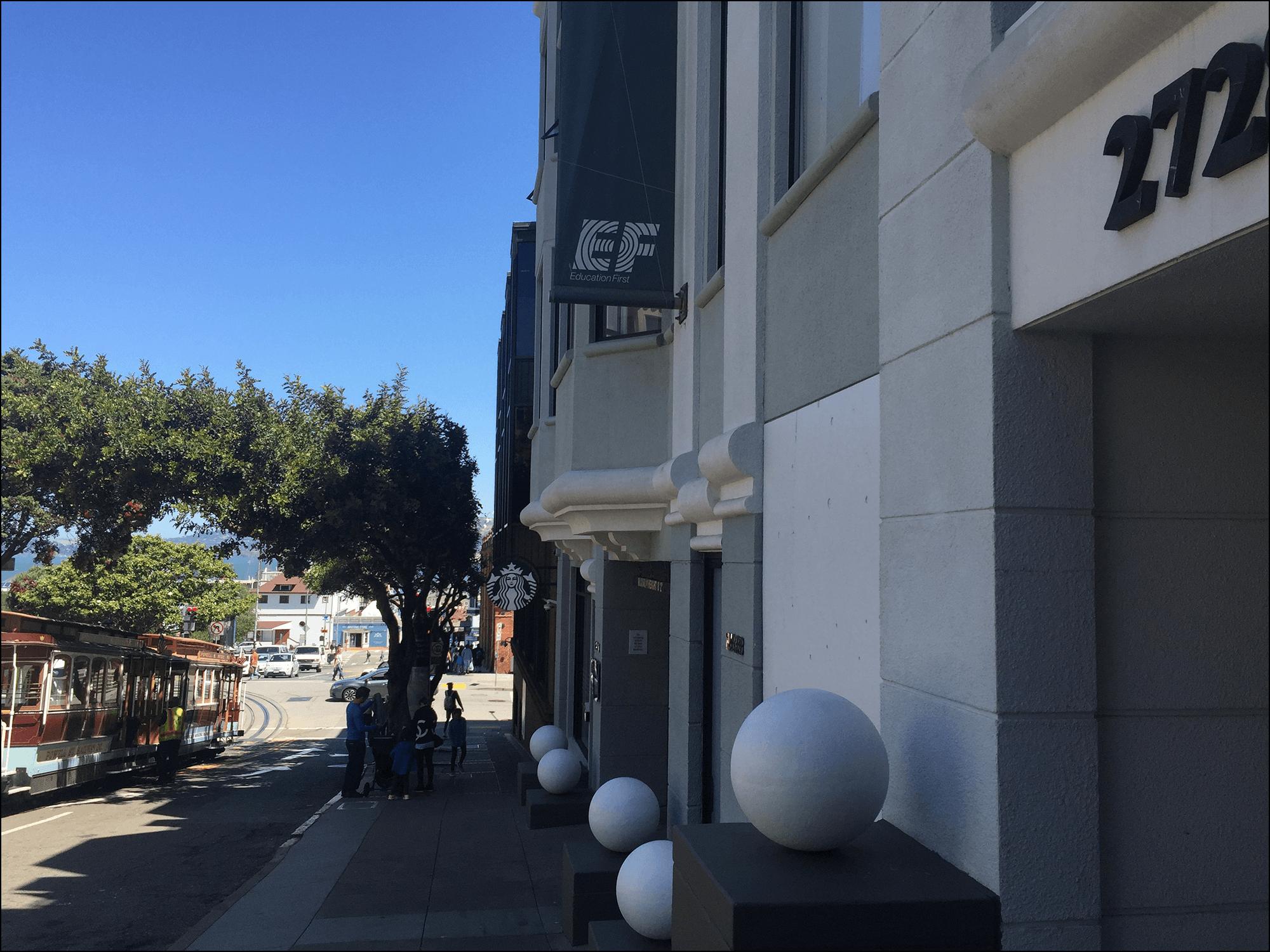 Education First EF San Francisco am Fishermans Wharf
