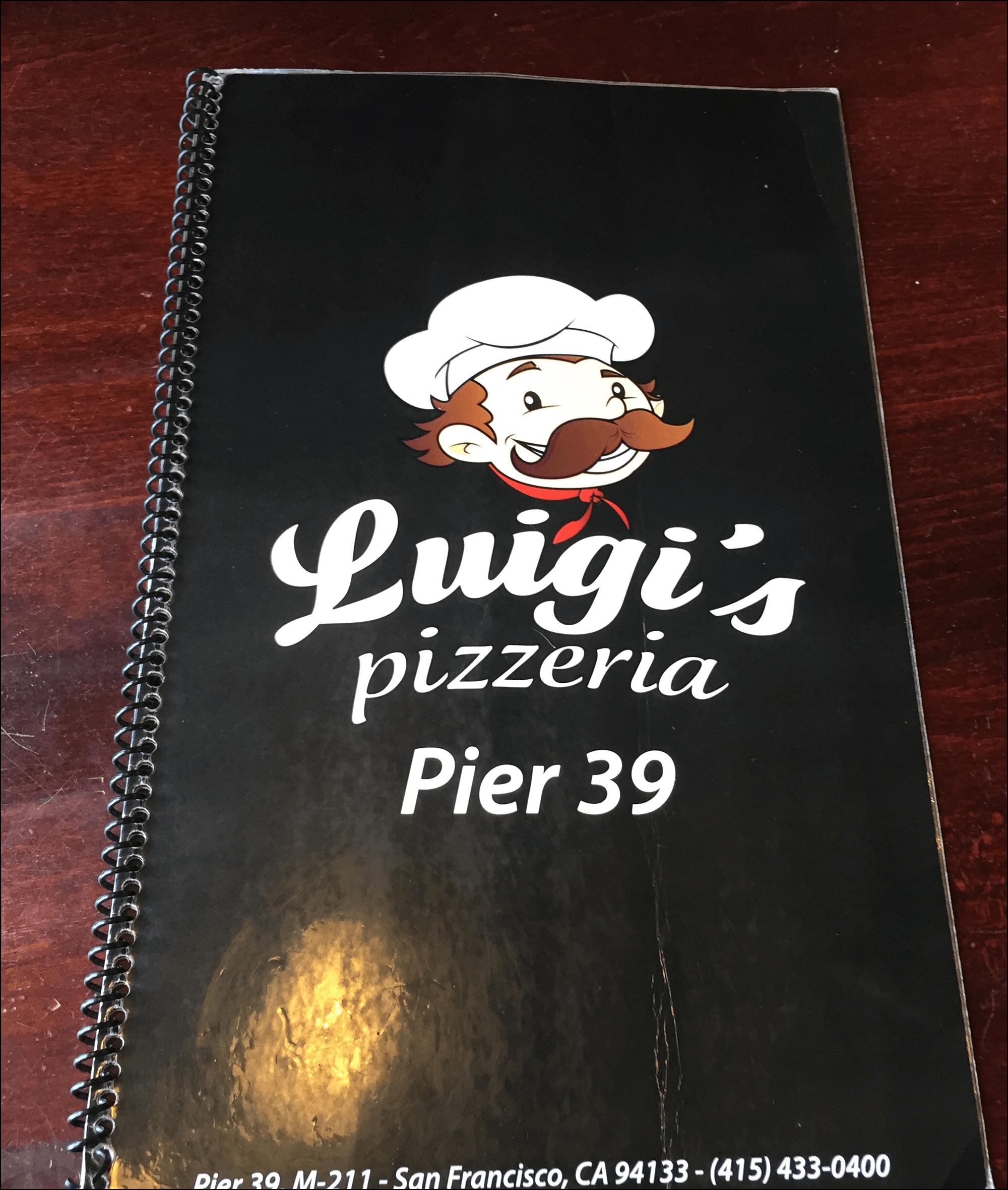 Luigis Pizzeria Pier 39 San Francisco