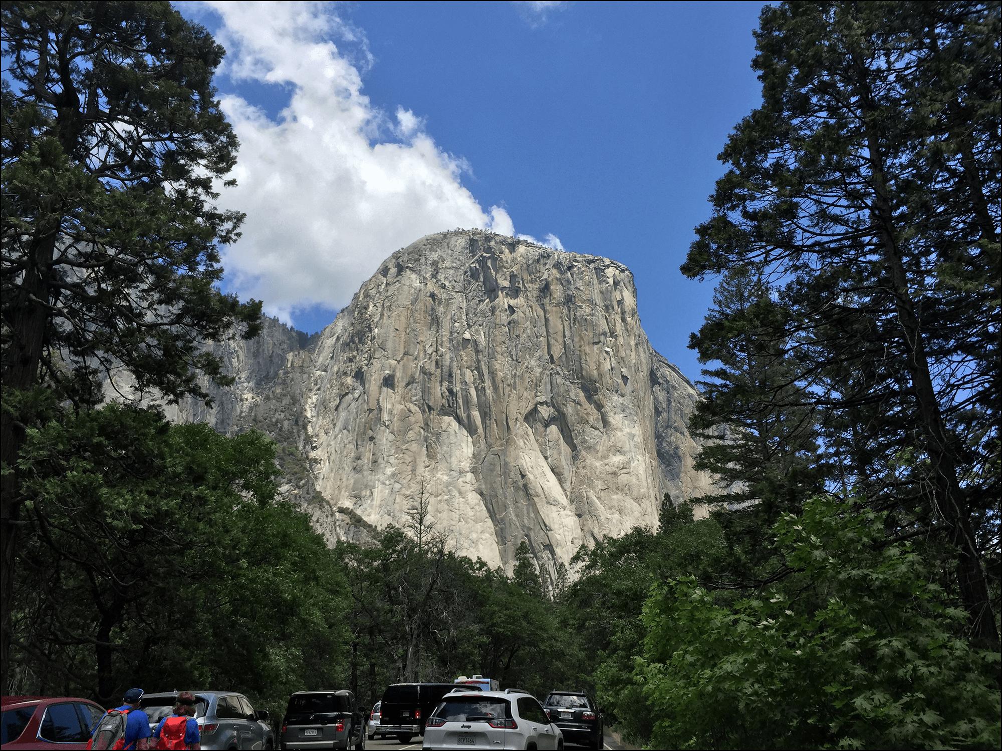 El Capitan in Yosemita National Park