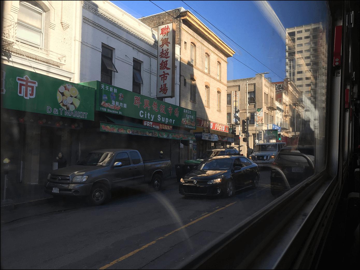 San Francisco Chinatown Kalifornien
