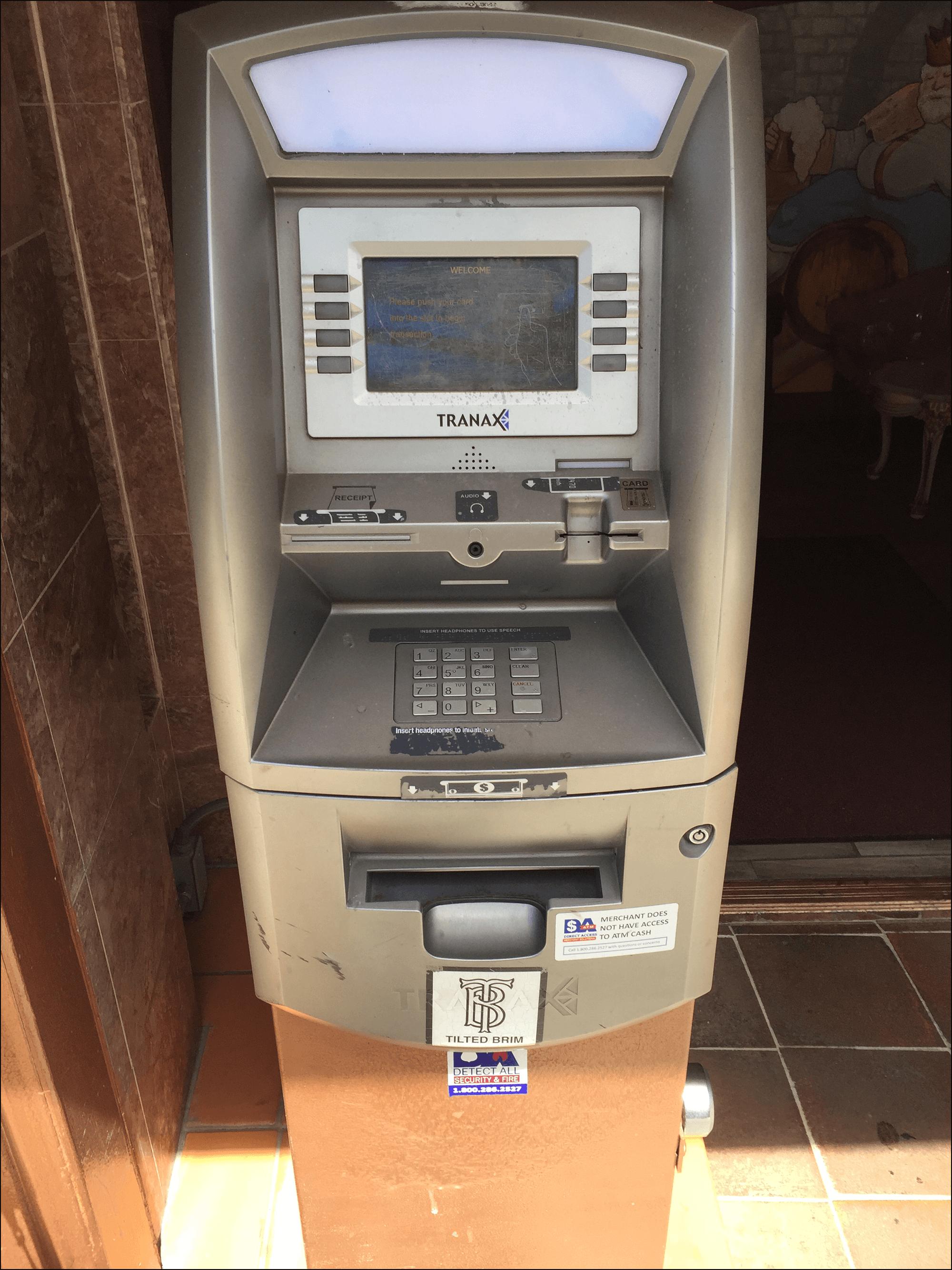 Geldautomat San Francisco Bankomat Dollar