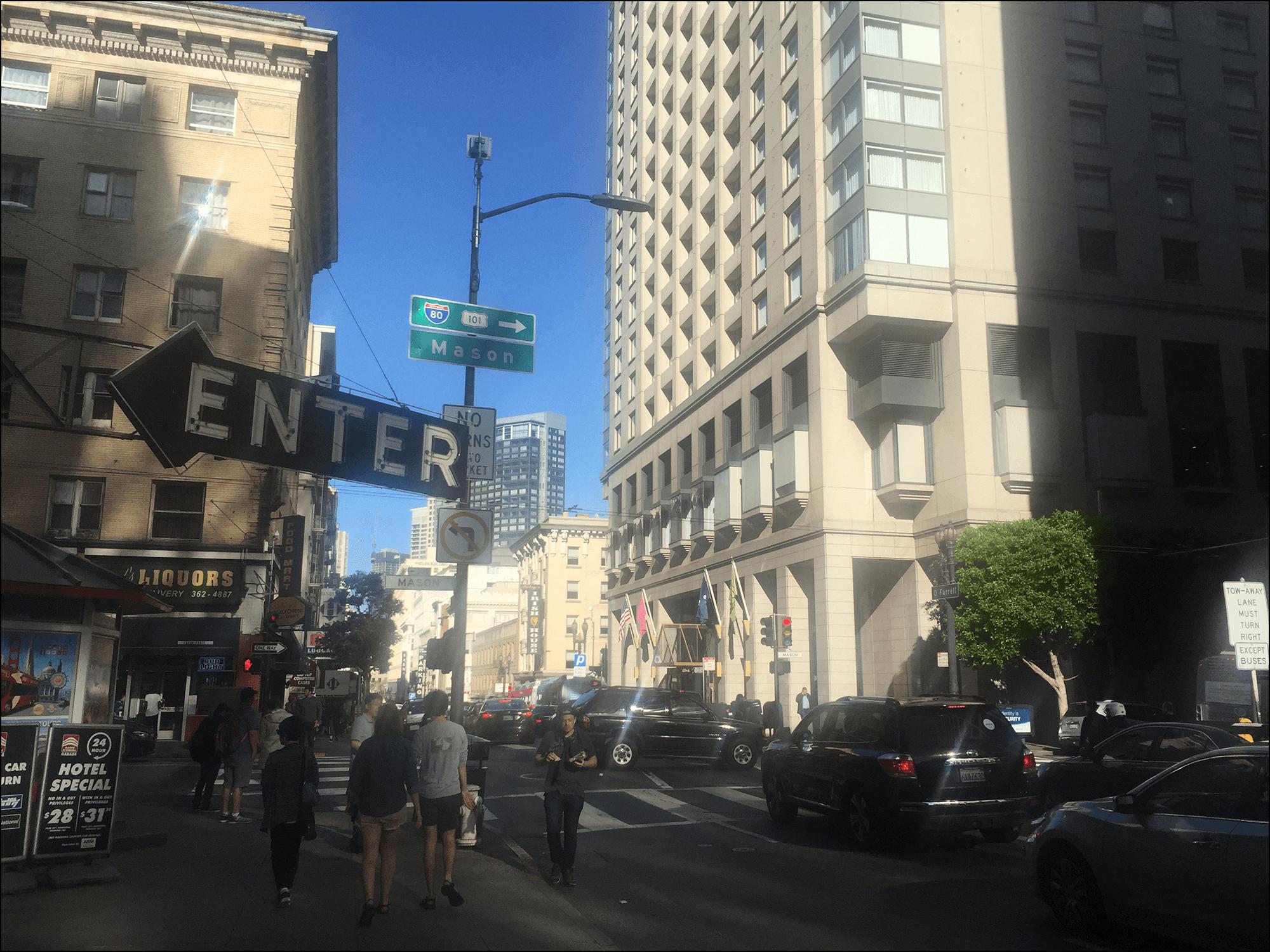 San Francisco Mason Street Kalifornien
