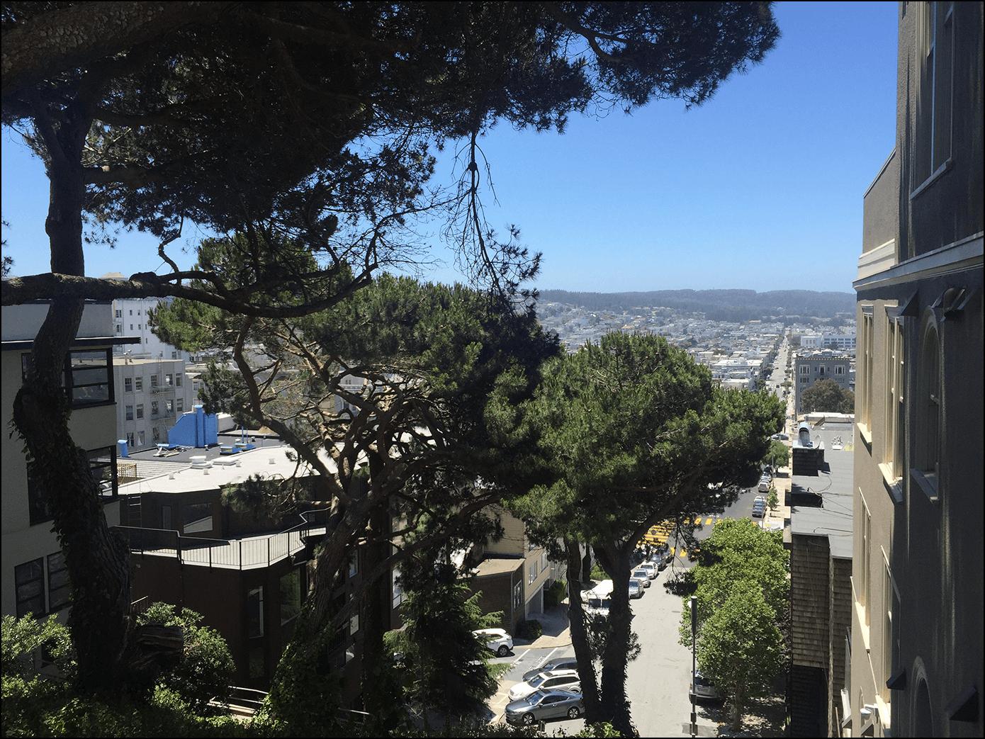 Blick über San Francisco