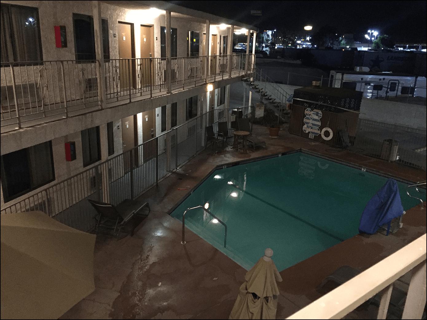 Das Rodeway Inn in Castaic mit Pool