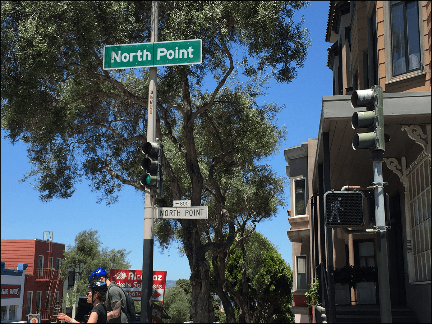 North Point Schild in San Fancisco