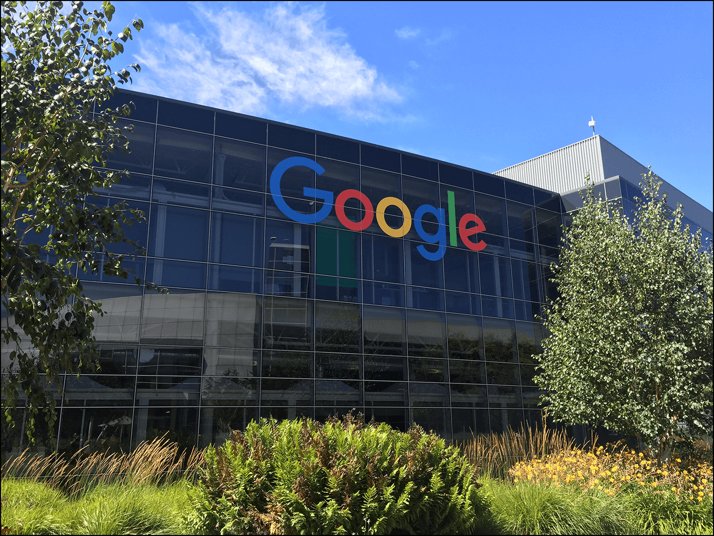 Google Headquarter in Silicon Valley Mountain View