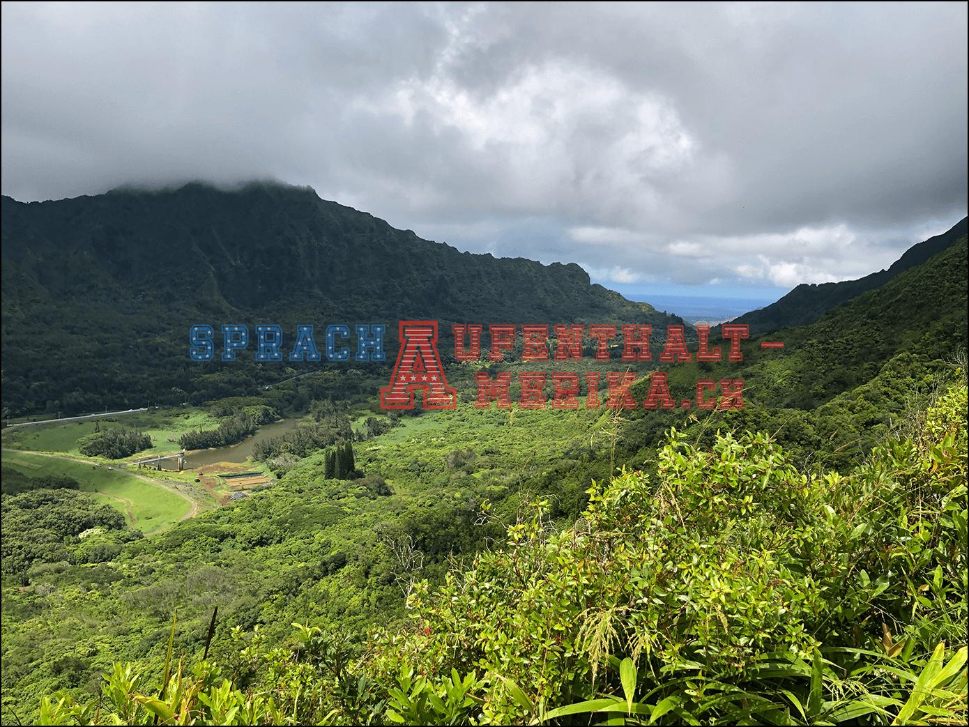 Pauoa-Trail Aussicht Hawaii Honolulu