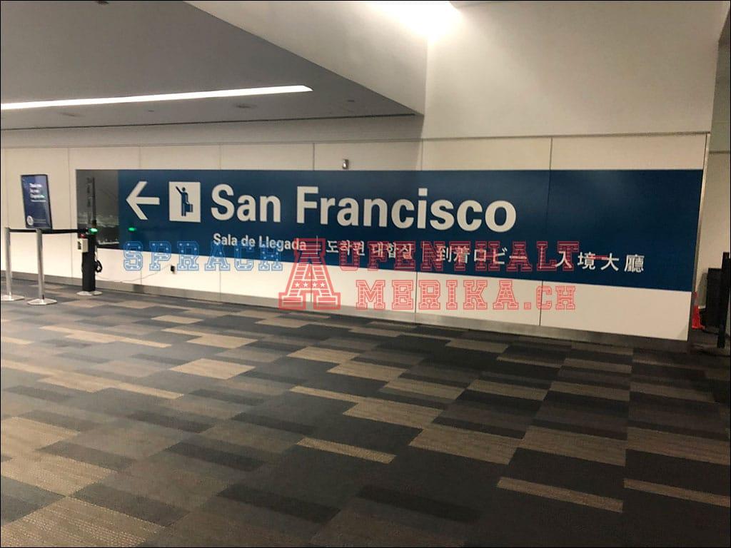 Willkommen in San Francisco