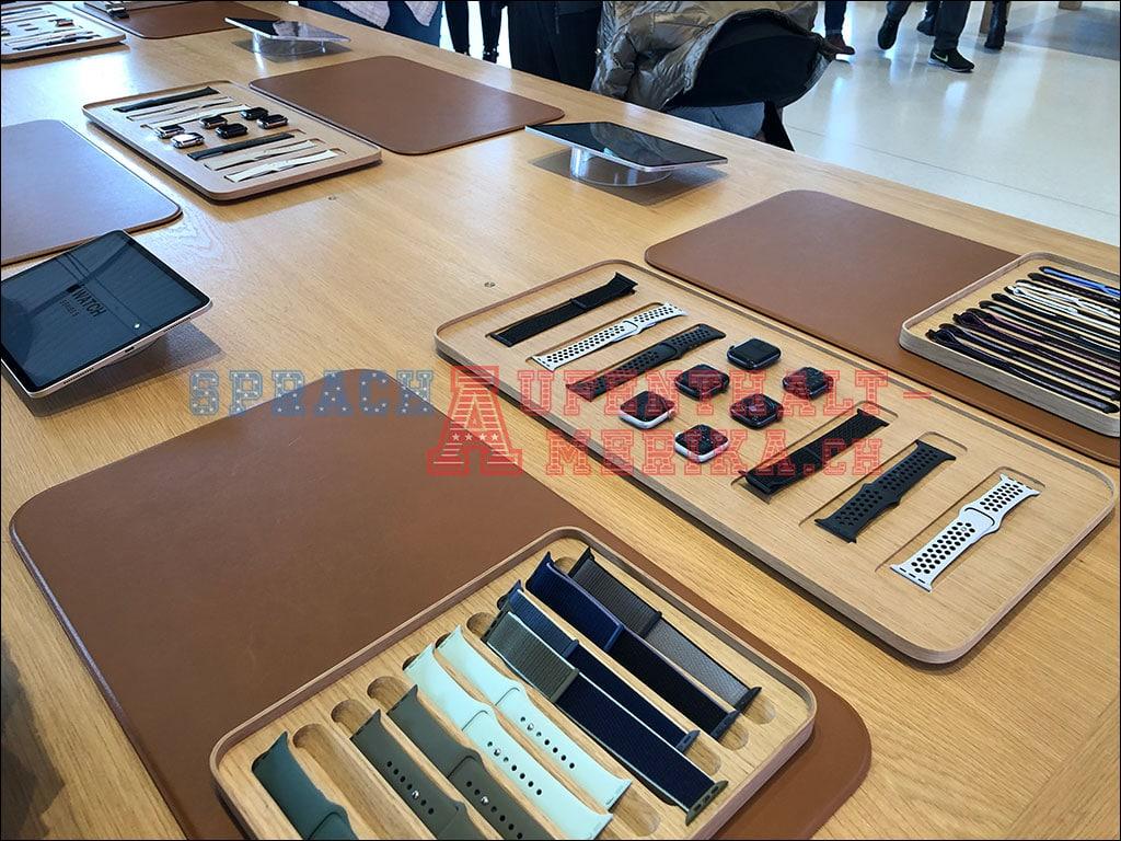 Apple Watch im Apple Visitor Center
