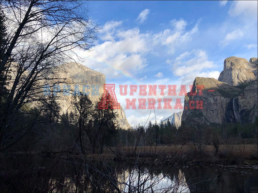 Yosemite Regenbogen
