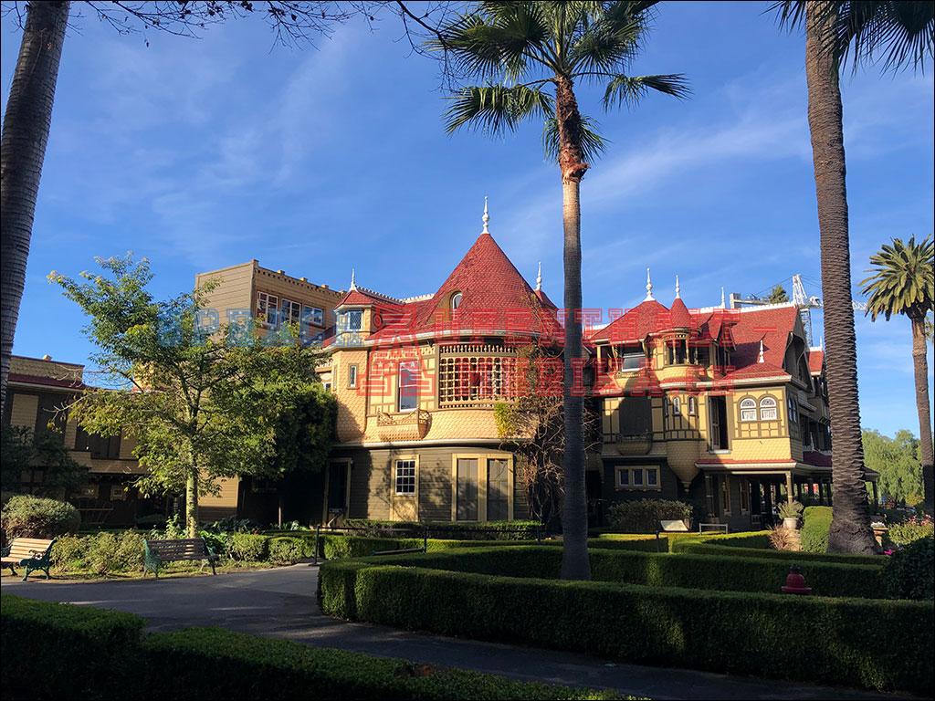 Winchesterhouse in San Jose Kalifornien