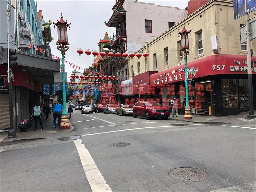 San Francisco Chinatown Strasse